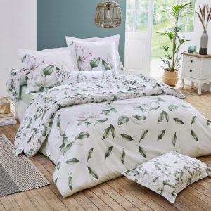 linge de lit magnolia sauge