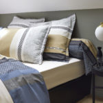linge de lit percale marlow acier