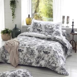 Parure de lit satin de coton SAVANE