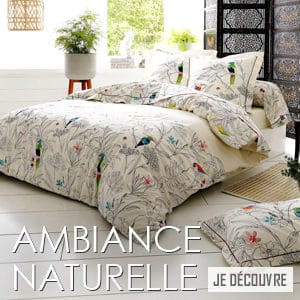 Parure de lit naturelle