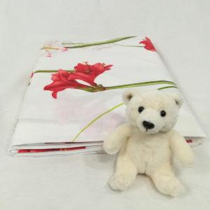 Drap de lit en coton AMARYLLIS