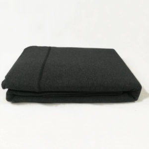 Drap de lit en jersey de coton anthracite