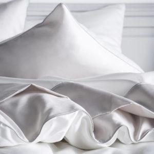 Drap de lit satin de coton MARIAGE