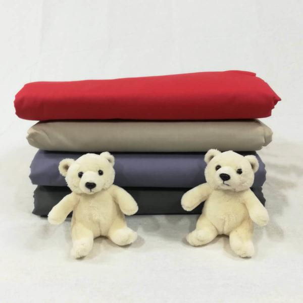Drap de lit en percale de coton
