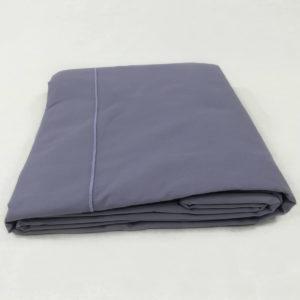 Drap de lit en percale de coton minerai