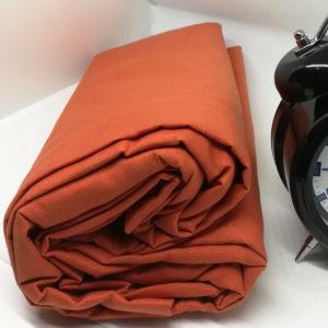 Drap housse en coton corail 57 fils/cm²