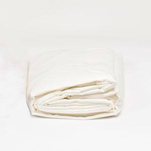 Drap housse satin de coton 80 fils/cm²