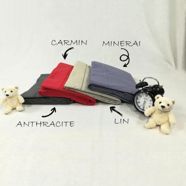 Drap de lit percale de coton
