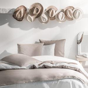 Parure de lit satin de coton RIVIERA, Essix