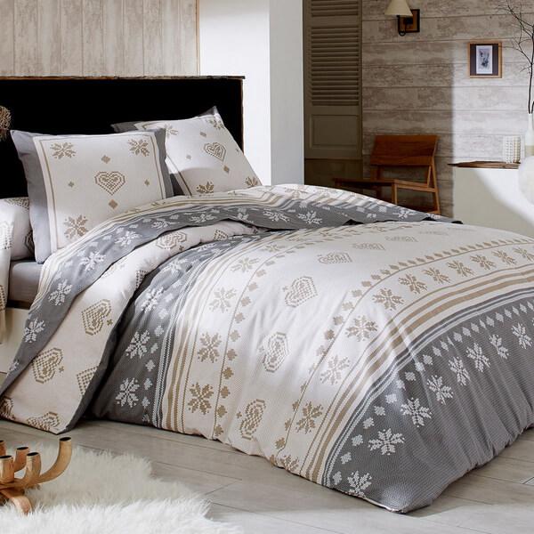Linge de lit flanelle