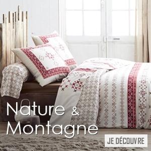 Linge de lit Made in France nature et montagne