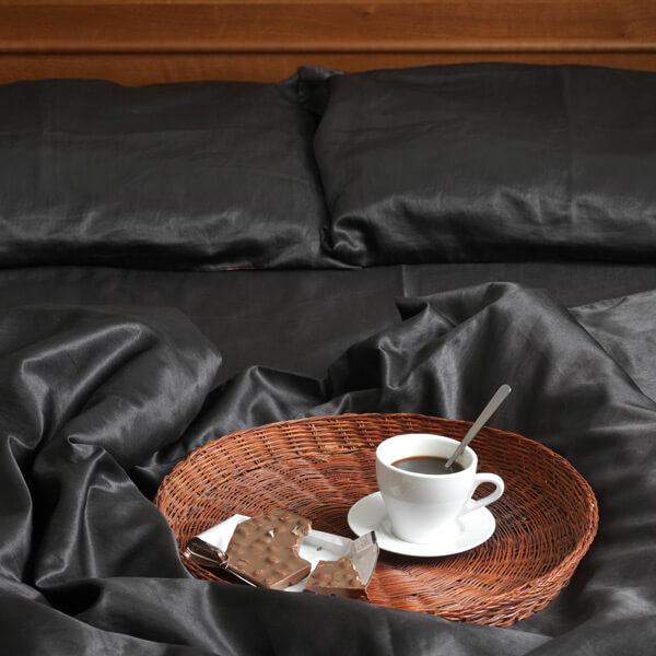 Linge de lit made in France en satin