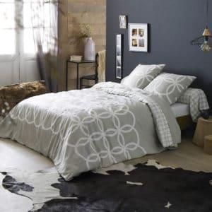 Parure de lit flanelle CASTILLE