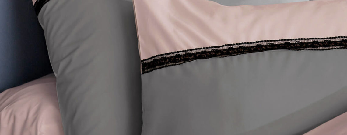 Drap de lit percale de coton 80 fils/cm² PASSION
